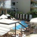 Der Pool vom Hotel Ibiscus