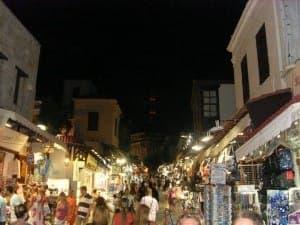 Die Old-Town bei Nacht