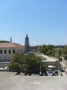 Der Clock Tower von der Burg aus gesehen