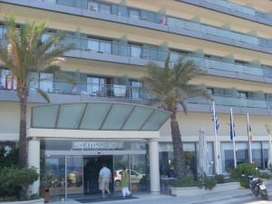 Das Hotel Mediterranean in Rhodos Stadt