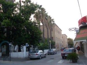 Straße der New-Town in Rhodos Stadt